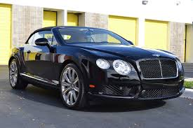 black bentley 2016 black bentley gt convertible scheer signature detailing