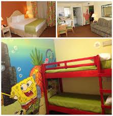 bedroom nickelodeon hotel room home design great interior