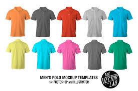 men u0027s polo shirt mockup templates product mockups creative market