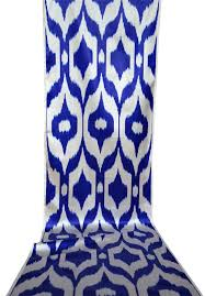 Purple Ikat Curtains Azzurro