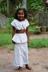 sri lankan national dress file dress for temple school jpg wikimedia commons