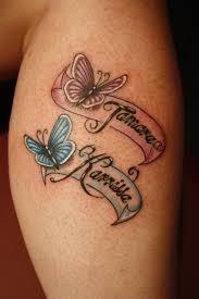 name tattoos and brilliant name ideas