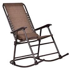 Patio Furniture Rocking Chair Goplus Folding Rocking Chair Rocker Porch Indoor