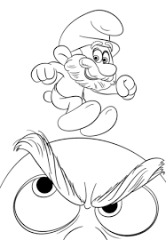 smurf coloring pages papa smurf coloring page free printable coloring pages