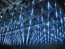visualpower meteor shower led nightclub led design