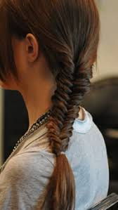 show pix of braid fishtail braid step by step tutorial