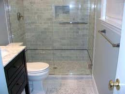 bathroom alcove ideas grey contemporary bathroom with a drop in tub and alcove shower