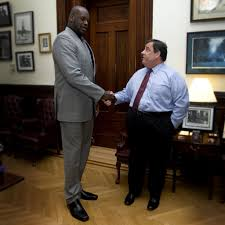 Chris Christie Resume Shaq Endorses Chris Christie Calls Gov A U0027great Man U0027 Nj Com