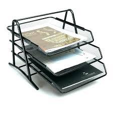 Paper Organizer For Desk Paper Organizer For Desk Office Storage Desktop Interque Co