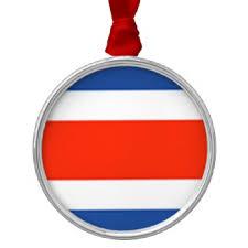costa rica flag decorations décor zazzle co uk