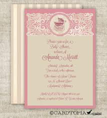 vintage baby shower invitations vintage baby shower invitations girl theruntime