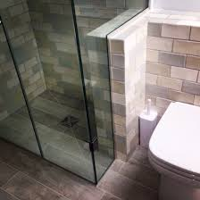 firedearth tiles in the shower and behind the toilet all the tile