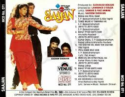 all songs free download and listen online saajan 1991 english