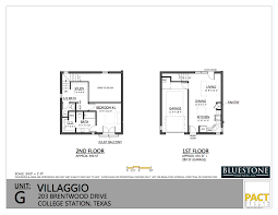 villaggio college station floor plans for you unit b floor