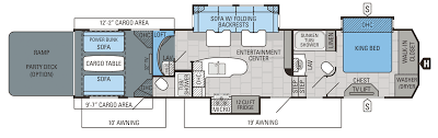 Toy Factory Lofts Floor Plans by 2016 Seismic Toy Hauler Floorplans U0026 Prices Jayco Inc