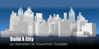 best animated city templates for powerpoint