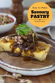 how to make basic savoury pastry my kitchen stories