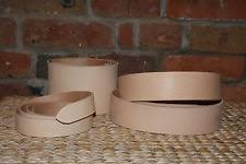 Natural Cowhide Leather Belt Blanks Leather Belt Blank Leathercraft Ebay