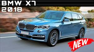 bmw cars 2018 bmw prices 2018 bmw x7 review rendered price specs release date youtube