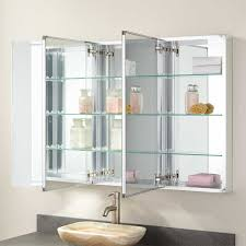 beveled glass medicine cabinet recessed 48 furview surface mount medicine cabinet bathroom