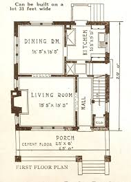 four square floor plan foursquare houses sears modern homes