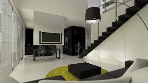 Contemporary Interior Design Black And White Themes Contemporary Interior Design Dinning Black