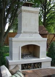 Outdoor Fireplace Accessories - modern ideas fireplace kit cute rcp block amp brick fireplace