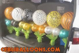 theme centerpieces safari balloon centerpieces safari theme centerpieces and stick