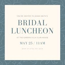 bridal luncheon invitations luncheon invite europe tripsleep co