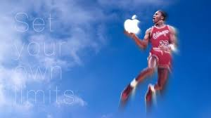 Apple Jordan Wallpaper | michael jordan apple wallpaper set your own limits by