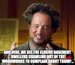 Basement Dweller Meme - basement dwellers imgflip