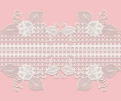 ribbon lace seamless white lace ribbon with floral elements for design