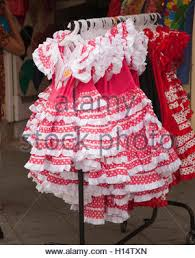 traditional childrens flamenco dresses for sale at the thursday