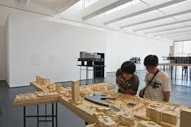discussing the new lacma design with peter zumthor architect