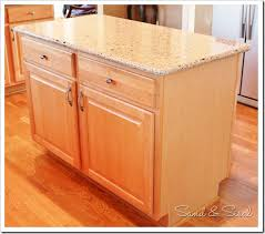 kitchen island makeover kitchen island makeover sand and sisal