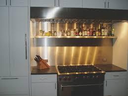 Commercial Kitchen Backsplash Picture Of Kitchen Kitchen Stainless Steel Backsplash Ideas