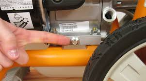 generac pressure washer oil change