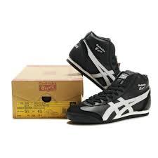 2014 asics onitsuka tiger mexico 66 high mens shoes black white