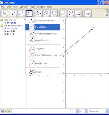 geogebra gradient of a line segment coordinate geometry worksheet
