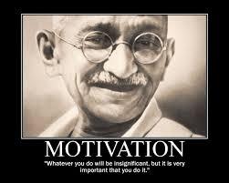 Gandhi Memes - mohandas karamchand gandhi motivational posters educator