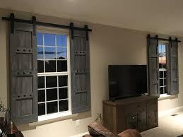 interior window barn door sliding shutters barn door shutter