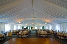 rent a tent for a wedding 11 locations for your tent wedding in new jersey