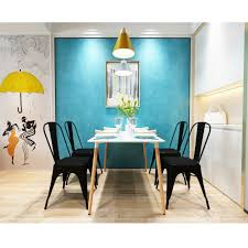 Steel Dining Room Chairs Online Get Cheap Modern Metal Dining Chairs Aliexpress Com