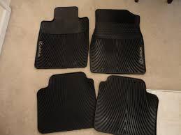 lexus gx rubber floor mats sc fs oem all weather floor mats clublexus lexus forum discussion