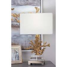 coral table lamps wayfair