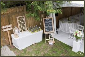 Backyard Wedding Decorations Ideas Inspiring Rustic Wedding Outdoor Decor Idea That You Can Do Using