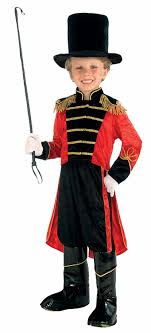 circus ring master deluxe costume toys