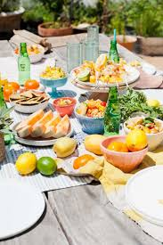 Summer Entertaining Recipes - outdoor summer entertaining ideas and recipes paper and stitch