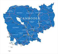 Map Of Cambodia Cambodia Motherland Travel