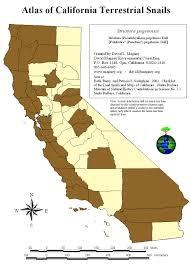 Ventura County Map David Magney Ventura County Terrestrial Snails